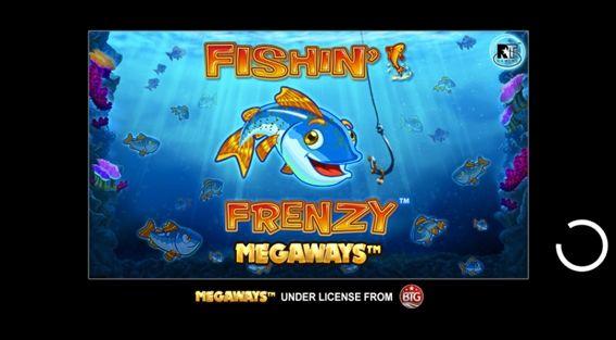 FISHIN FRENZY MEGAWAYSタイトル