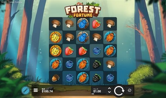 FOREST FORTUNEプレイ画面