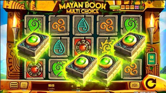 Mayan Bookスキャッター4つ
