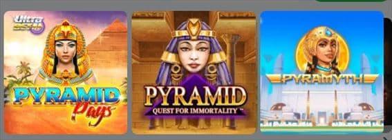 Pyramid検索