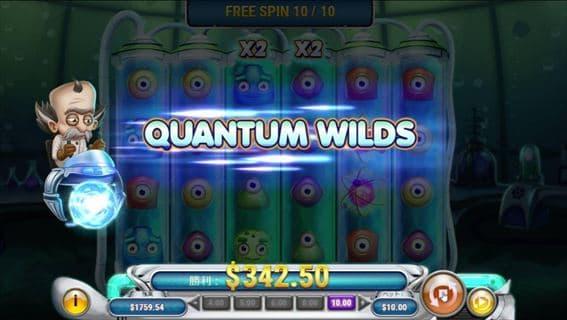 Quantum Wilds発動