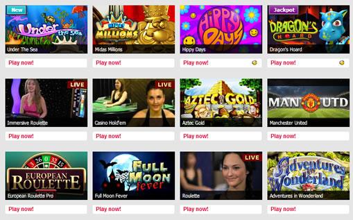 パーティーカジノのゲームラインナップ