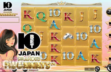 10betJapan Branded MEGAWAYS