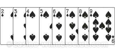 2~9のカード